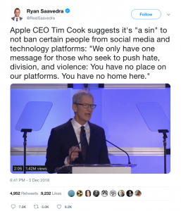 The Lord Almighty, Tim Cook